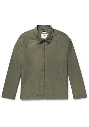 Freemans Sporting Club - Cotton And Nylon-blend Jacket - Army green