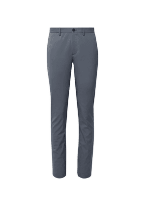Theory - Storm-blue Neoteric Zaine Slim-fit Stretch-twill Trousers - Storm blue