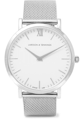Larsson & Jennings - Lugano Silver-plated Watch - one size