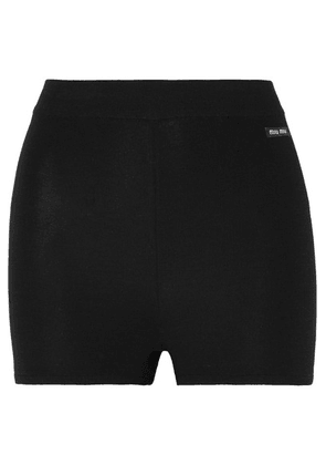 Miu Miu - Wool Shorts - Black