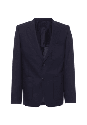 AMI Slim-Fit Cotton-Blend Blazer