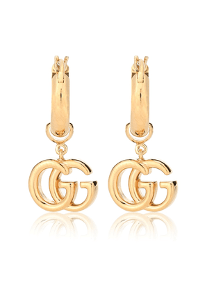 GG 18-karat gold earrings