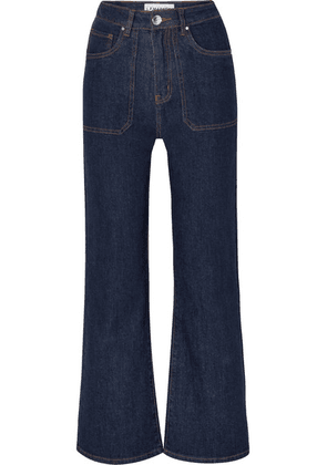 L.F.Markey - Jimbo High-rise Wide-leg Jeans - Indigo