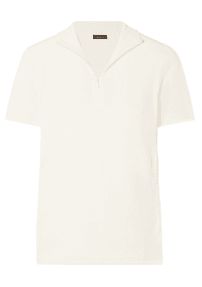 Akris - Cashmere And Silk-blend Turtleneck Top - Off-white