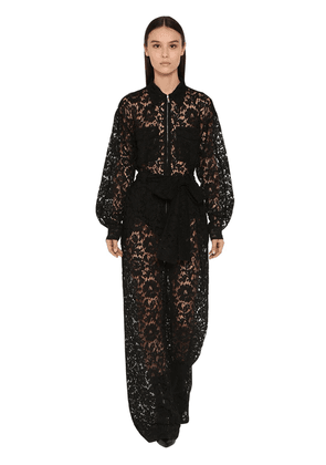 Long Viscose Lace Jumpsuit