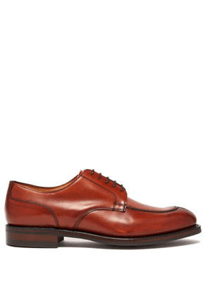 Cheaney - Chiswick R Leather Derby Shoes - Mens - Brown