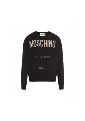 Moschino Couture Wool And Cashmere Pullover