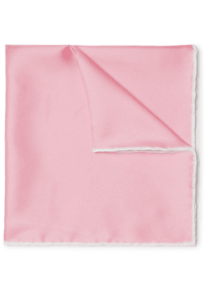 Emma Willis - Silk-twill Pocket Square - Pink