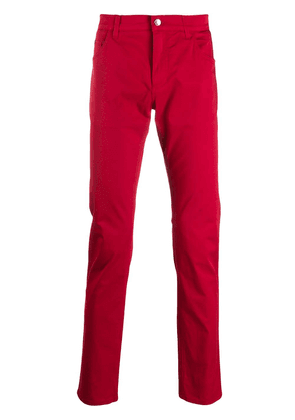 Dolce & Gabbana slim-fit trousers - Red