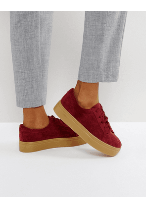 ASOS DAY LIGHT Suede Lace Up Trainers