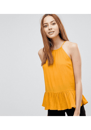 ASOS DESIGN TALL Crinkle Trapeze Top
