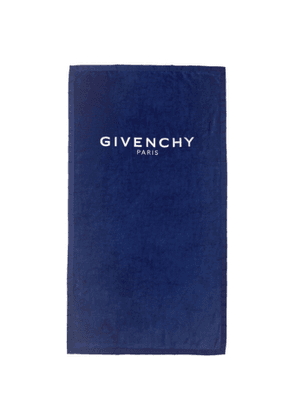 Givenchy Blue Logo Towel