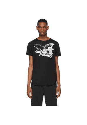 Ann Demeulemeester Black Wings T-Shirt