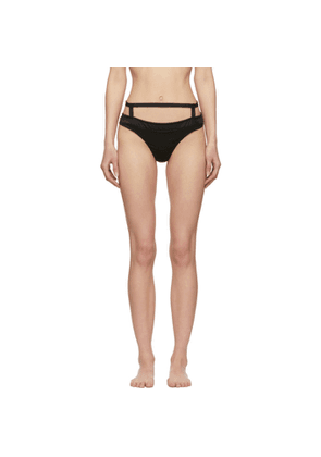 Chantal Thomass Black Troublante Thong