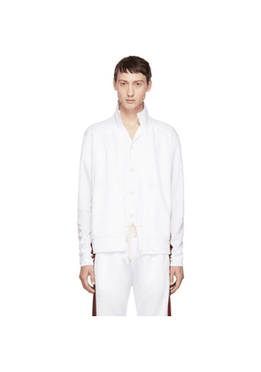 Band of Outsiders White Logo Track Jacket