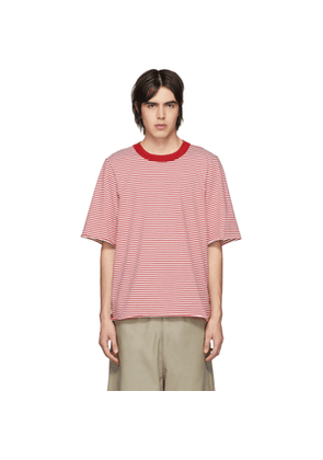 Camiel Fortgens Red Tailored Double T-Shirt