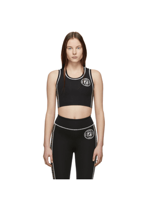 Fendi Black Forever Fendi Sports Bra