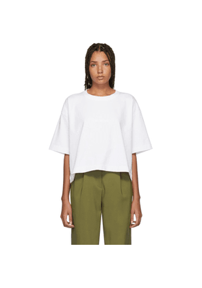 d487b1360ae3 Acne Studios Gojina Dyed White Oversized t-shirt | MILANSTYLE.COM
