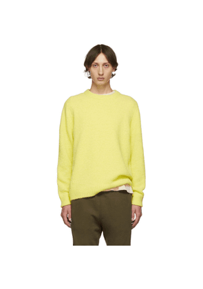 Tibi SSENSE Exclusive Yellow Airy Sweater