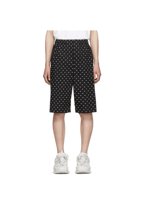 Balenciaga Black and White BB Boxer Shorts