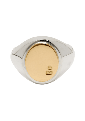 Bunney Gold and Silver Signet Ring