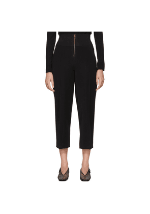 Carven Black High-Waisted Trousers