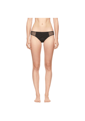 Chantal Thomass Black Encens Moi Briefs