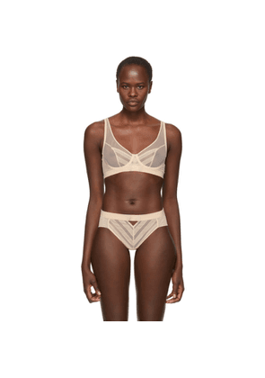Chantal Thomass Beige Influente Underwire Bra