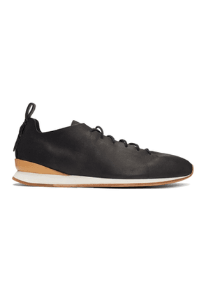 Feit Black Runner Sneakers