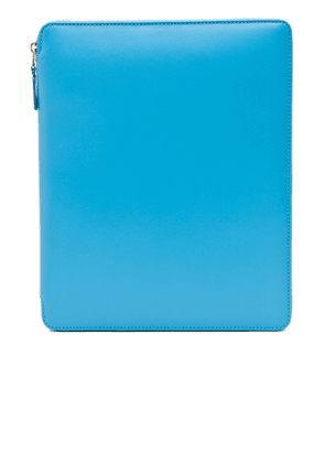 Comme Des Garcons Classic iPad Case in Blue - Blue. Size all.