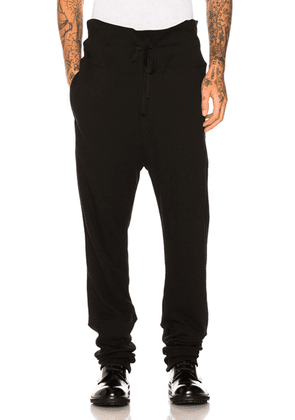 Ann Demeulemeester Trousers in Black - Black. Size L (also in S,M).