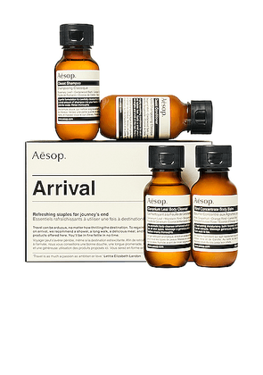 Aesop Arrival Travel Kit in N/A. Size all.