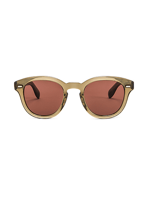 Oliver Peoples Cary Grant Sunglasses in Dusty Olive & Rosewood - Gray. Size all.