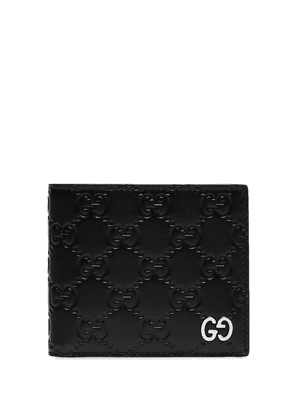 Gucci GG Signature embossed wallet - Black