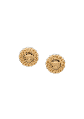 Versace Jeans Medusa earrings - Gold