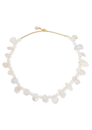 Anissa Kermiche - Gold-plated Pearl Necklace - one size