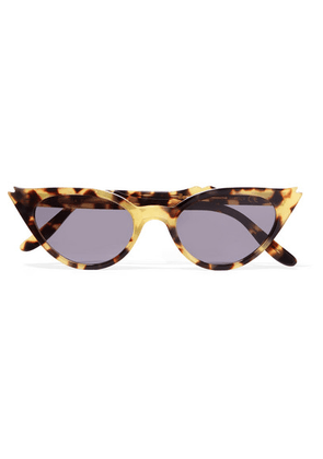 Illesteva - Isabella Cat-eye Acetate Sunglasses - Tortoiseshell