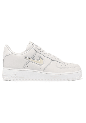 Nike - Air Force 1 '07 Lx Leather Sneakers - Cream