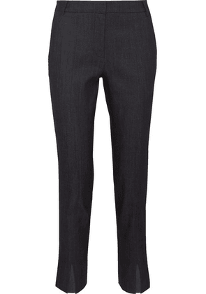 Tibi - Beatle Mid-rise Straight-leg Jeans - Dark denim
