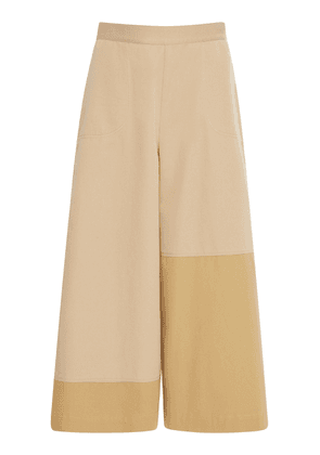 Loewe Mid-Rise Cropped Culotte Trousers