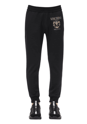 Logo Cotton Blend Sweatpants
