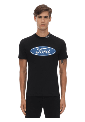 Ford Logo Taylor Fitted Cotton T-shirt