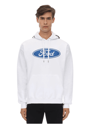Ford & Versace Logo Cotton Hoodie