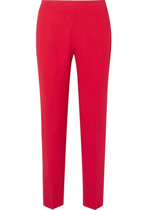 Antonio Berardi - Stretch-cady Slim-leg Pants - Red