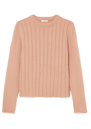 Chloé - Ribbed Cashmere Sweater - Peach