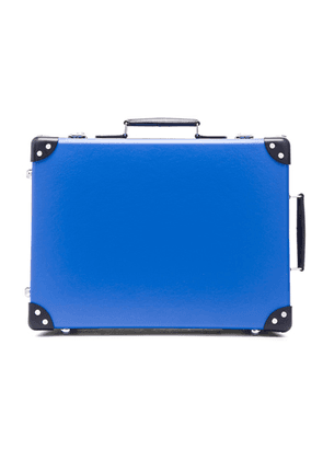 Globe-Trotter 18 Cruise Trolley Case in Navy & Royal - Blue. Size all.