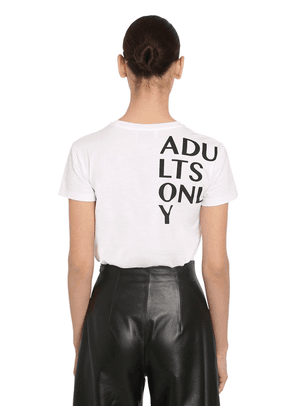 Adults Only Printed Cotto Jersey T-shirt