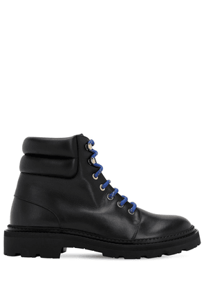 30mm Ganya Leather Combat Boots