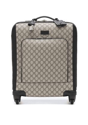 GG Supreme carry-on suitcase