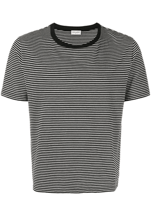 Saint Laurent striped T-shirt - Black